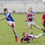 Emmett O`Keeffe, who's out with a broken toe, will be a big loss this weekend for Castledermot in round three of the IFC
