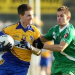Carbury's Eoghan O'Flaherty and Conor Tiernan of Sarsfields both made the team of the week
