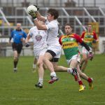 Kildare`s Emmet Bolton in action against Carlow in the O'Byrne Cup