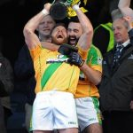 Dream come true: Niall Browne lifts the All-Ireland trophy
