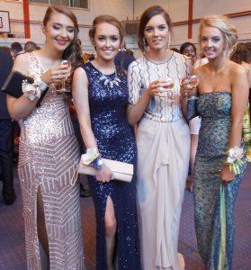 Roisin O'Sullivan, Rachel Eustace, Isobel Hyland and Sarah Murphy