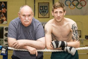 As always, Dom O'Rourke will be the man in Eric Donovan's corner Photo: Piotr Kwasnik