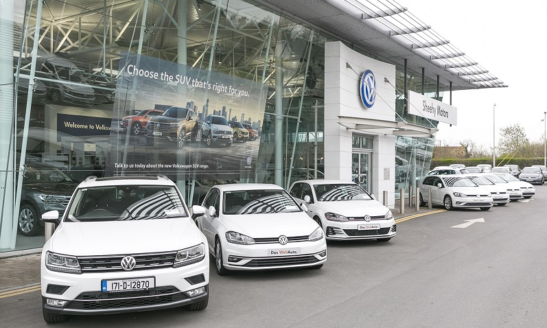 Sheehy Motors Naas is VW Retailer of the Year
